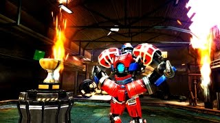 Real Steel Champions | FINAL TOURNAMENT | Touchdown VS Metro (Champion) NEW ROBOTS GAME