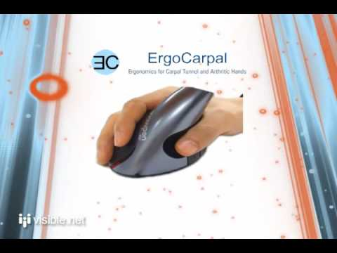Ergo Carpal - Vertical Ergonomic Mouse Keyboard Wrist Rest