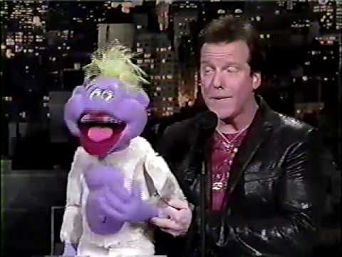 Jeff Dunham and Peanut on David Letterman