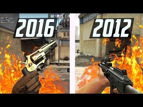 ОТЛИЧИЯ CS:GO 2012 и 2016   AlexShow