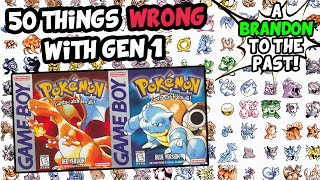 50 Things WRONG With Pokemon Red Blue and Yellow (Generation 1)