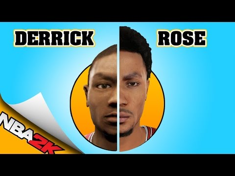 DERRICK ROSE EVOLUTION [NBA 2K9 - NBA 2K16]
