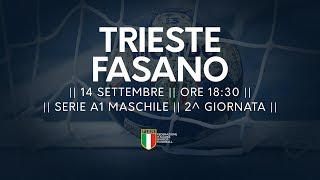 Serie A1M [2^]: Trieste - Fasano 26-28