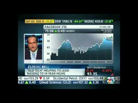 Ari Zoldan - CNBC Closing Bell - Tech Stocks