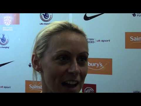 Jenny Meadows takes seventh #BritishChamps title