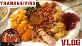Thanksgiving VLOG (Family Games, Black Family, Great Food) 2017