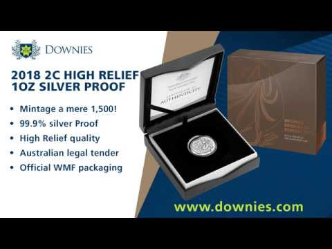 New at Downies: the Original 2c Design High Relief 1oz Silver Proof Coin! (official WMF release)