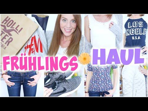Xxl FrÜhlings Haul 2015 Mit Primark, Hollister, H&m, Nike, Zara | Pleite Geshoppt 😱 | Laurencocoxo video