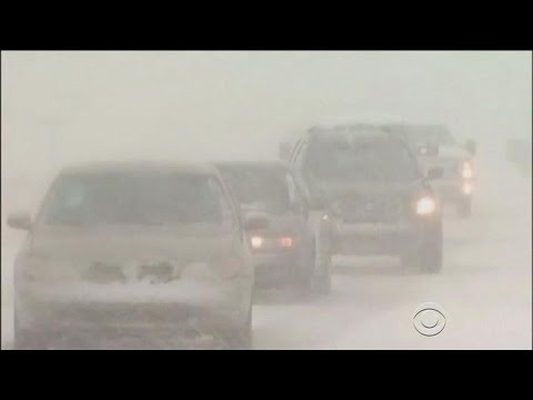 Winter storm heading to Northeast