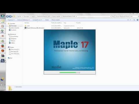 Descarga e instalacion de maple17