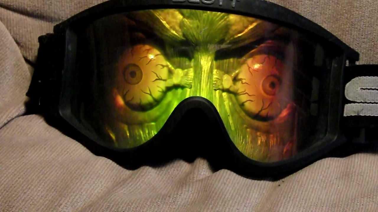 Scott Psycho hologram goggles - YouTube