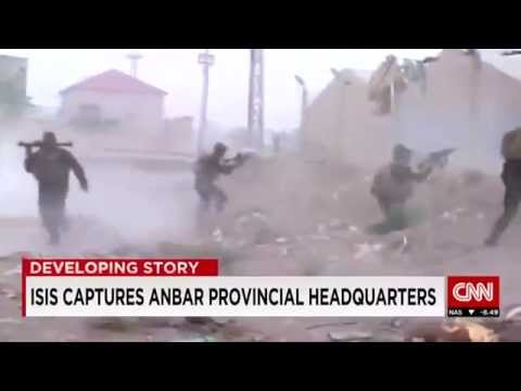 ISIS captures government HQ in Ramadi Iraq Anbar Province