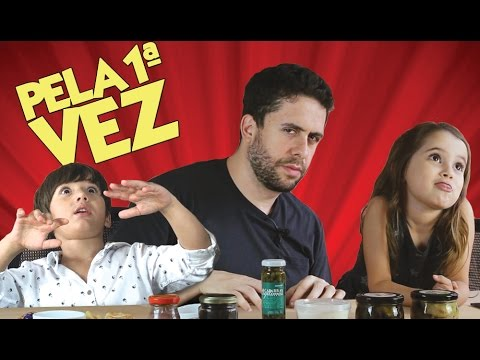 PELA 1ª VEZ - CAVIAR, MC BIN LADEN, BOLSONARO E MAIS (Maurício Meirelles) Vídeos de zueiras e brincadeiras: zuera, video clips, brincadeiras, pegadinhas, lançamentos, vídeos, sustos