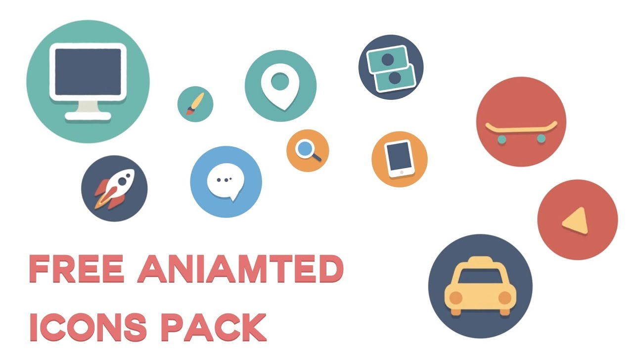 Animated Icons Gif Animated Flat Icons by Jacob r