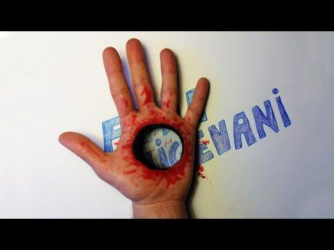 Como Dibujar un Agujero con Sangre en mi Mano