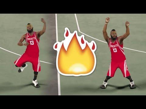 JAMES HARDEN HIT DEM FOLKS (DANCE VIDEO) NBA2K17