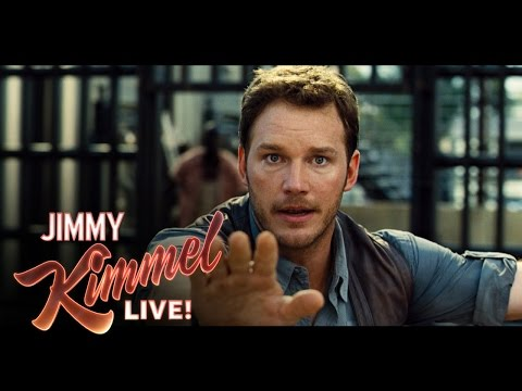 Jimmy Kimmel Asks Chris Pratt About Playing Indiana Jones