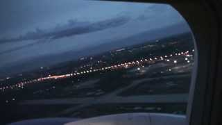 flight: Moskow - Almaty (takeoff and landing), pax view. 2013.