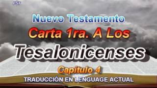 Carta 1ra. A Los Tesalonicenses - Traducción Lenguage Actual
