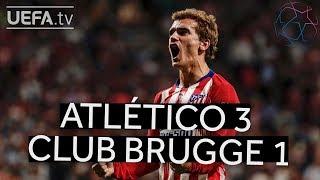 ATLÉTICO 3-1 CLUB BRUGGE UCL HIGHLIGHTS