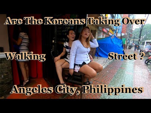 Are The Koreans Taking Over Walking Street : Angeles City, Philippines