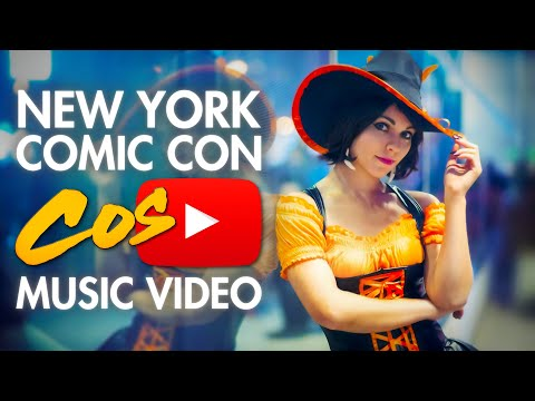 UNSEEN! NYCC - Cosplay Music Video - New York Comic Con