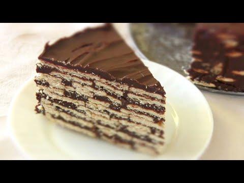 ТОРТ без выпечки/ Самый простой Торт из печенья
