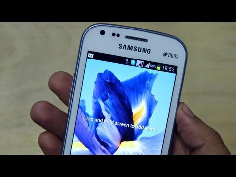 Samsung GALAXY S DUOS Unboxing & Hands On REVIEW HD by Gadgets Portal - EXCLUSIVE