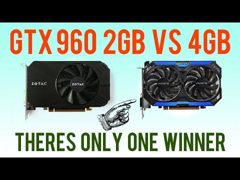 GTX 960 2GB vs GTX 960 4GB - Does the Extra VRAM matter?