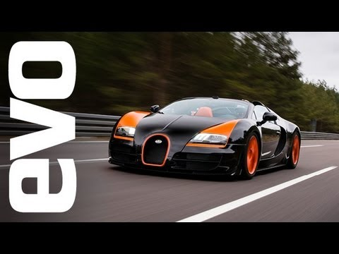 Bugatti Veyron Grand Sport Vitesse- world record top speed- evo Diaries