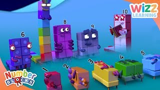 Numberblocks - NEW EPISODES! | Bedtime Stories | Learn to Count | Wizz Learning