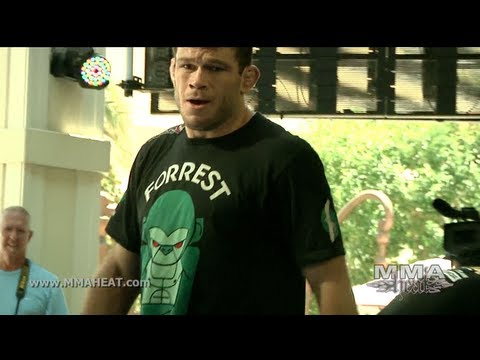 UFC 148: Forrest Griffin's Open Workout Before Trilogy Fight With Tito Ortiz (Complete and Unedited) Image 1