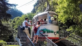 Borjomi cableway. Transportation by cable car