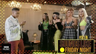 Little Mix take on Gig In A Minute (on Sounds Like Friday Night)