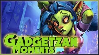 Hearthstone - Gadgetzan Moments #2 - Funny and lucky Rng Moments