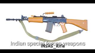 Indian special forces weapons
