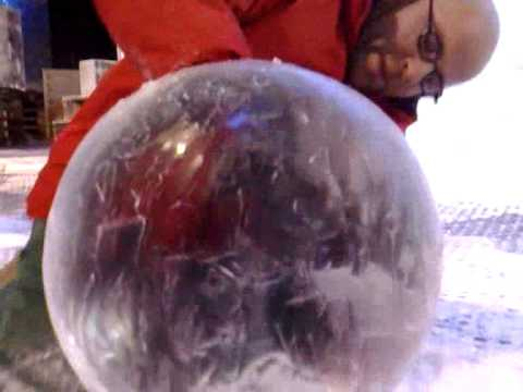 How it s made ice spheres