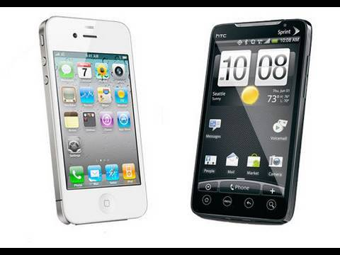 iPhone 4 vs HTC EVO 4G: First Look