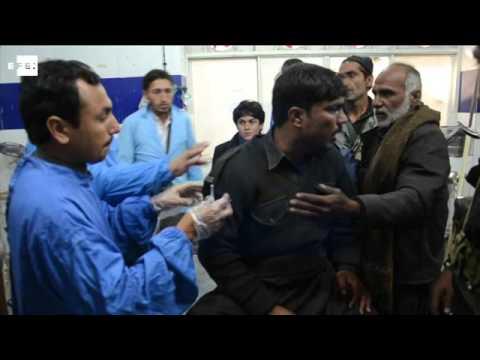 Bomb kills at least 15 near polio center in Pakistan