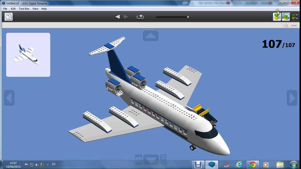 Avion Airbus A Lego City