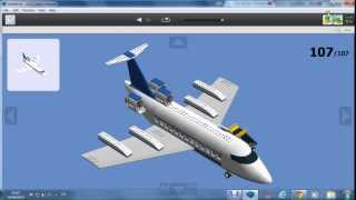 How to build a LEGO passengars plane