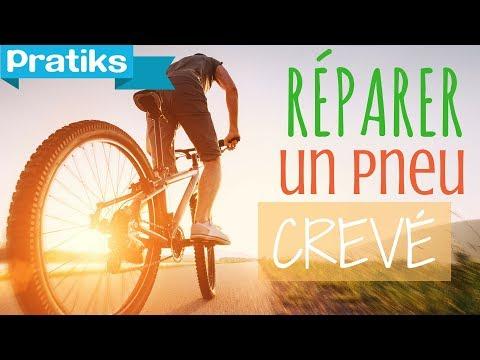 comment reparer une roue crevee de velo