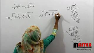Easy Square root calculation for BCS, IBA MBA, SSC or PSC JSC