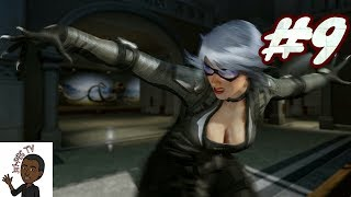 BLACK CAT BOSS FIGHT!!! The Amazing Spider-Man 2 Walkthrough Part 9