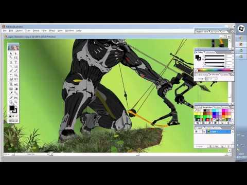 Trabalho de Design Gráfico - Crysis Nanosuit Prophet!