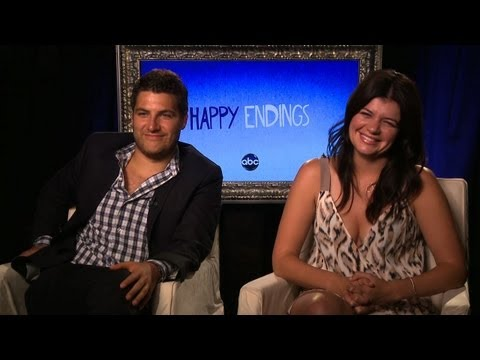 Adam Pally and Casey Wilson Promise