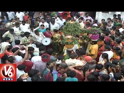 Hyderabad Authorities Speeds Up Arrangement Works For Bonal Festival | V6 News