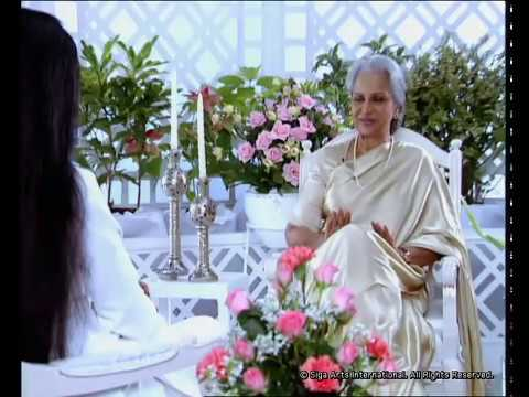 Rendezvous with Simi Garewal Waheeda Rehman Part -1