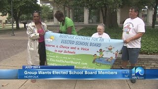 Norfolk group wants elected school board members