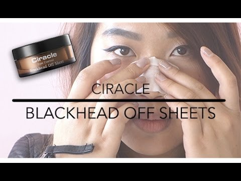 HOW TO | Ciracle Blackhead Off Sheets